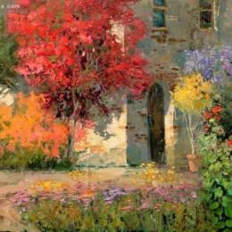 Kent Wallis 唯美浪漫的印象派绘画