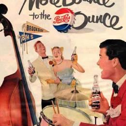 图片素材 古老的百事可乐广告欣赏