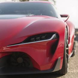 丰田FT-1 终极跑车设计欣赏