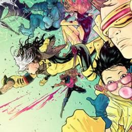 超级英雄主题插画 神奇X战警