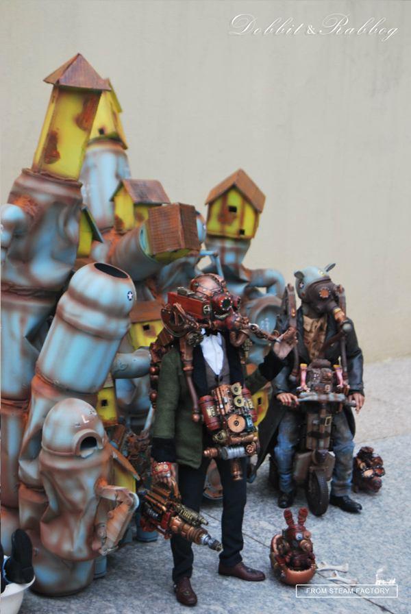 蒸汽工厂 限量版玩具设计欣赏
