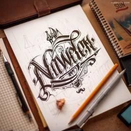 Ink Ration 手绘素描作品欣赏