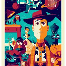 Tom Whalen 复古卡通电影海报欣赏