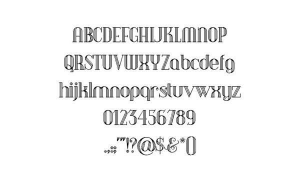 12个免费的内嵌英文字体下载