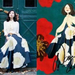 张小溪NancyZhang 服装设计手绘作品
