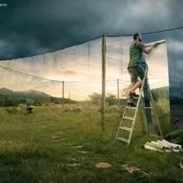 Erik Johansson 照片合成作品欣赏
