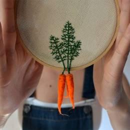 Veselka Bulkan 可爱的手工毛毡蔬菜