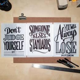 Jason Vandenberg 手写字体设计欣赏