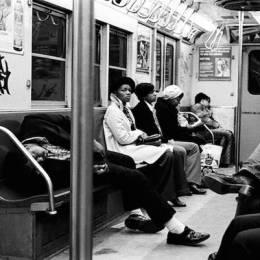 1970年纽约黑白老照片