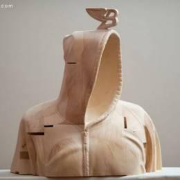 Paul Kaptein 木雕艺术欣赏