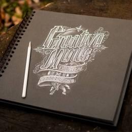 更多手绘字形设计 更多灵感