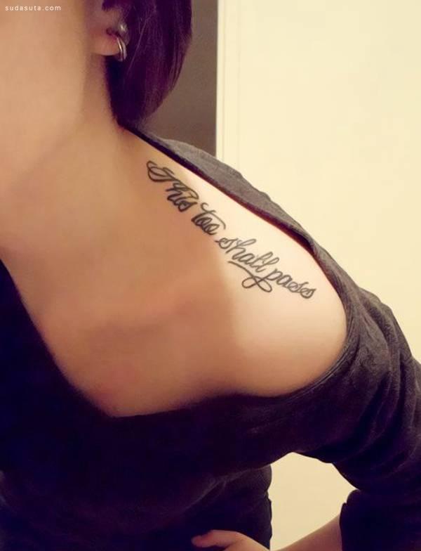 纹身 图案/小女生的创意纹身图案欣赏