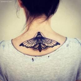 小女生的创意纹身图案欣赏