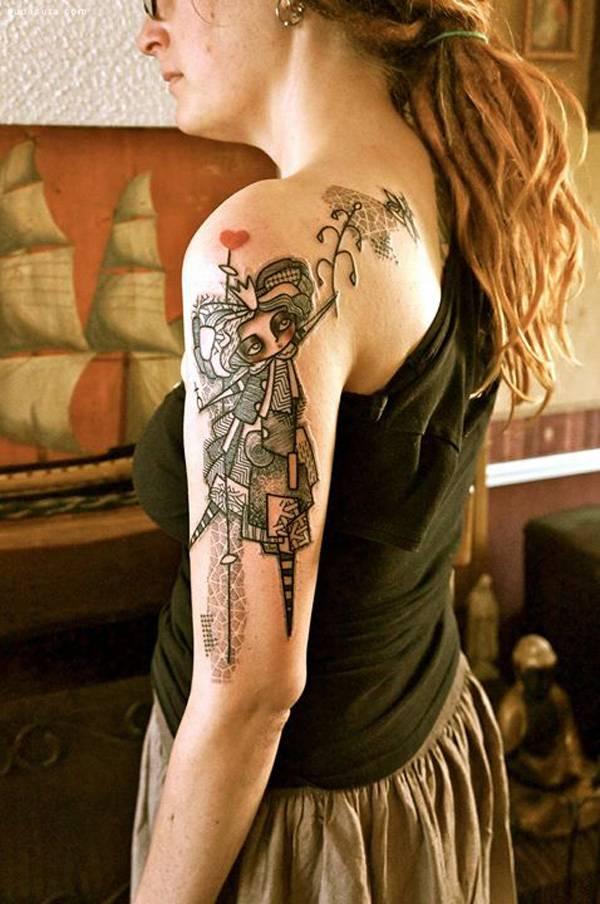 ... 纹身 刺青 刺青欣赏 图案 女生 纹身 纹身图案 纹身