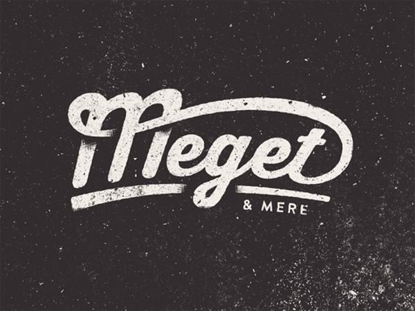设计/创意LOGO设计欣赏更多花体字