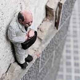 Isaac Cordal 细小的雕塑艺术