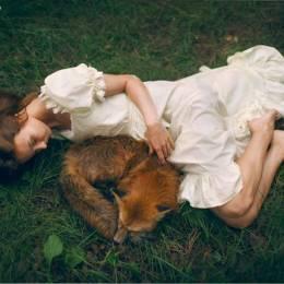 Katerina Plotnikova 美女与野兽 幻想摄影欣赏
