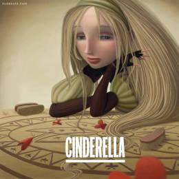 Varya Kolesnikova 儿童插画《灰姑娘的童话》
