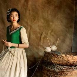 木恩酱 青春摄影欣赏《织女》