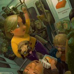 Andrey Gordeev 商业插画欣赏