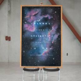 Dangerdust 黑板上的手写艺术字体欣赏