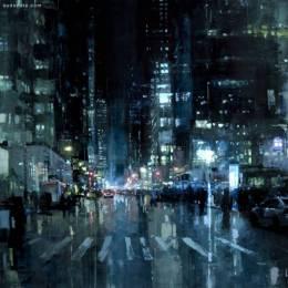 Jeremy Mann 印象中的城市艺术