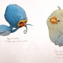 MAJOS Illustrations 卡通鸟类造型设计欣赏