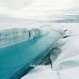 Olaf Otto Becker 白色的格陵兰岛景观