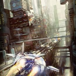 Stefan Morrell 未来派3D幻想建筑插画欣赏
