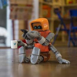 Steve Talkowski 超级酷的卡通机器人设计