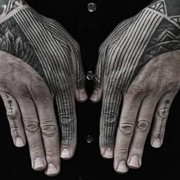 对称的创意纹身设计欣赏