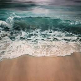 Zaria Forman 如真实般的海洋粉彩素描