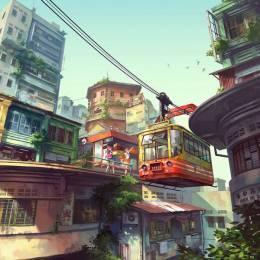 Chong FeiGiap 数字艺术卡通插画欣赏