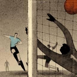 Davide Bonazzi 足球世界杯主题插画欣赏