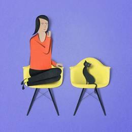 Eiko Ojala 剪纸创意插画欣赏