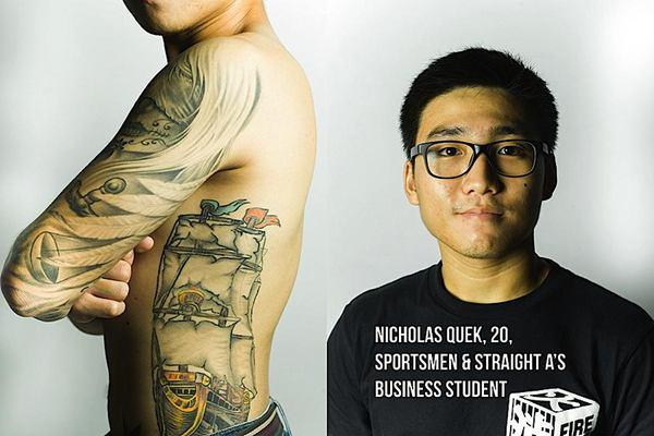 Gabriel Aiden 刺青项目《Mistaken》欣赏