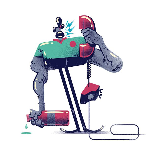 Gabriel Silveira 卡通商业插画欣赏