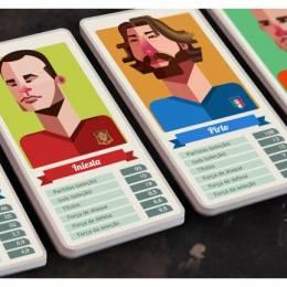 Mano a Mano 世界杯卡通人像造型设计欣赏