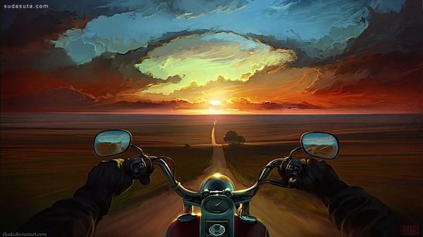 Artyom Chebokha 超现实主义数字艺术插画欣赏