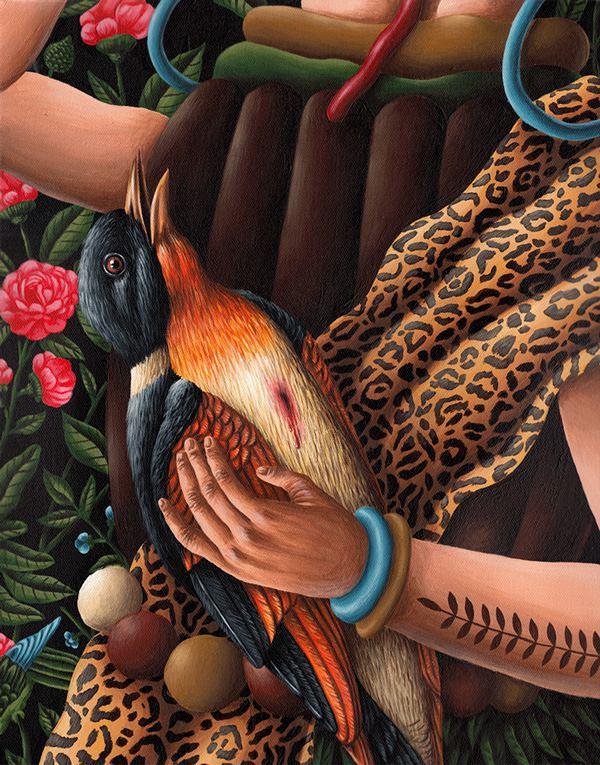 Saddo 鸟的历史肖像画