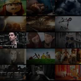 创意网页设计欣赏 更多画廊