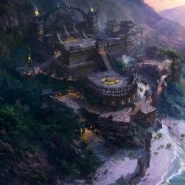dawnpu 传奇场景概念设计作品欣赏