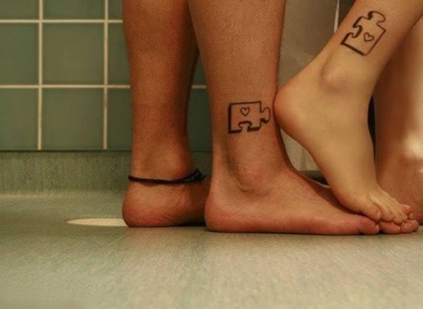 创意生活 配对纹身无限爱