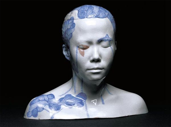 Ah Xian 青花瓷雕塑设计欣赏