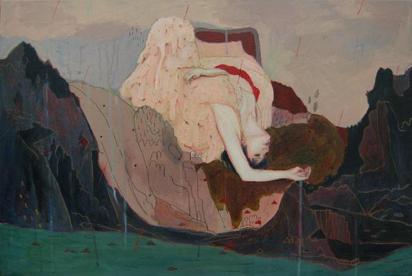 Alexandra Levasseur 混合绘画艺术欣赏