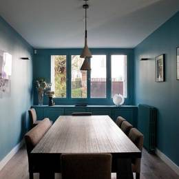 Bois Colombes Home 干净现代的建筑摄影欣赏