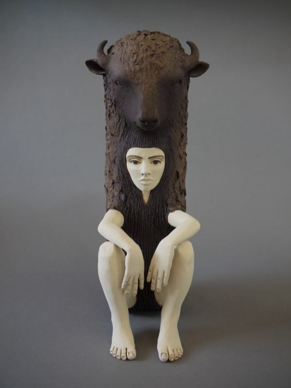 Crystal Morey 陶瓷雕塑欣赏
