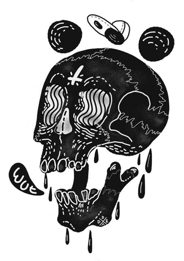 Dead Toy Matte 坏孩子潮流插画欣赏