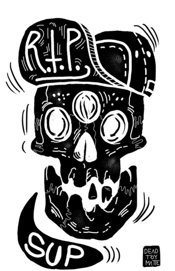 Dead Toy Matte 坏孩子潮流插画欣赏 - 苏打苏塔设计量贩铺 – sudasuta.com – 每日分享创意灵感!