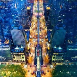 Donna Dotan 光辉迷人的城市夜景